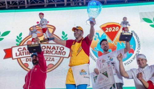 Un Colombiano Se Lleva El Premio Al Mejor Pizzero De América Latina