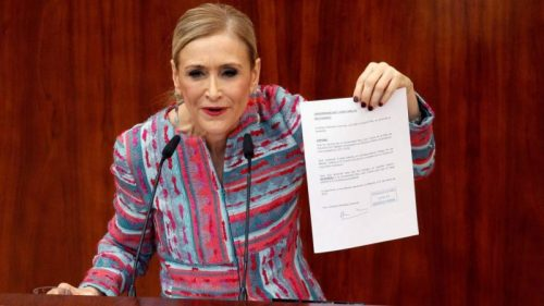 Cristina Cifuentes Absuelta Por Falta De Pruebas En Su Caso Y Se Condena A Asesora De La Comunidad