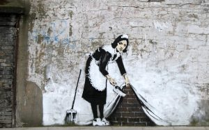 Recordando al grafitero Inglés llamado Banksy