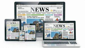 Los periódicos impresos están quedando en el pasado