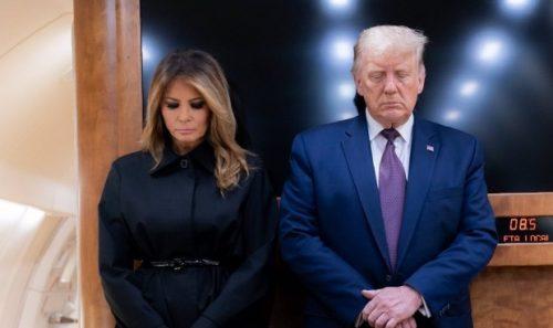 Trump Y Su Esposa Vacunados Secretamente Antes De Dejar La Casa Blanca