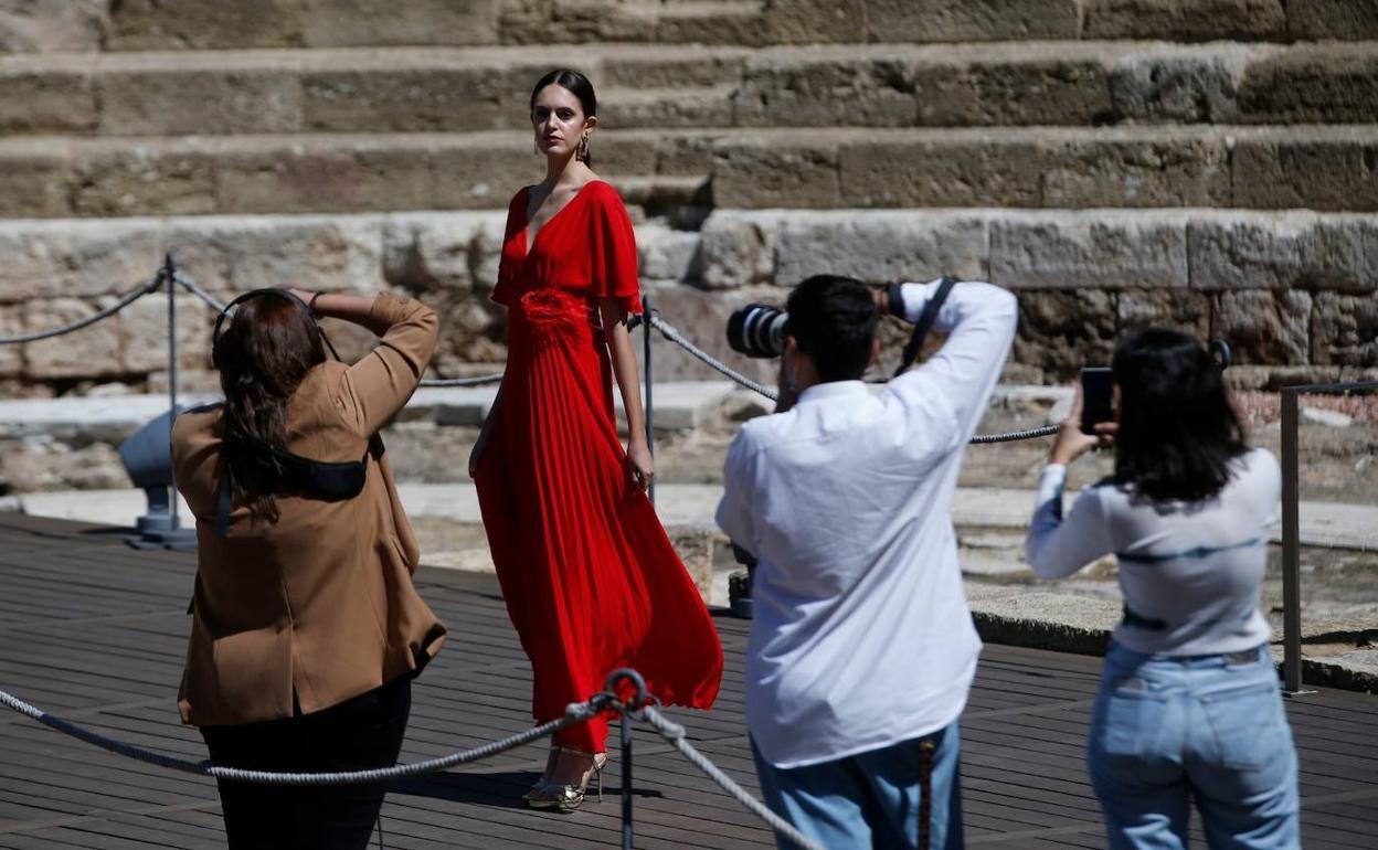 La marca Málaga de moda y la Semana de la Moda de Andalucía en el Teatro Romano de la capital