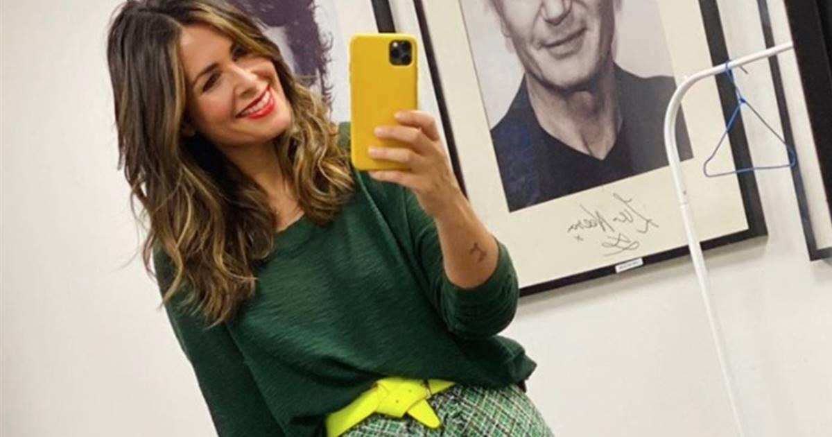 El look de la presentadora Nuria Roca
