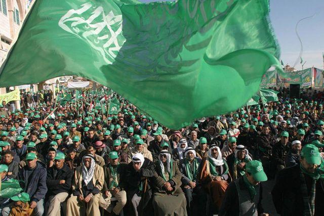 El movimiento Hamas o movimiento de resistencia islámico