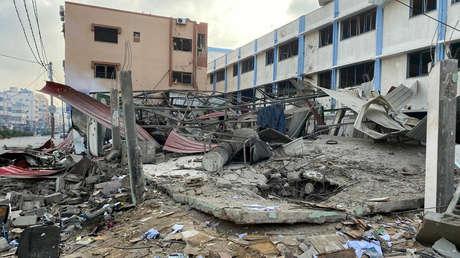 El conflicto del ataque de Hamas y el bombardeo de Gaza