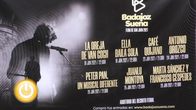 ¿Dónde conseguir las entradas a los conciertos de la Feria Badajoz Suena?