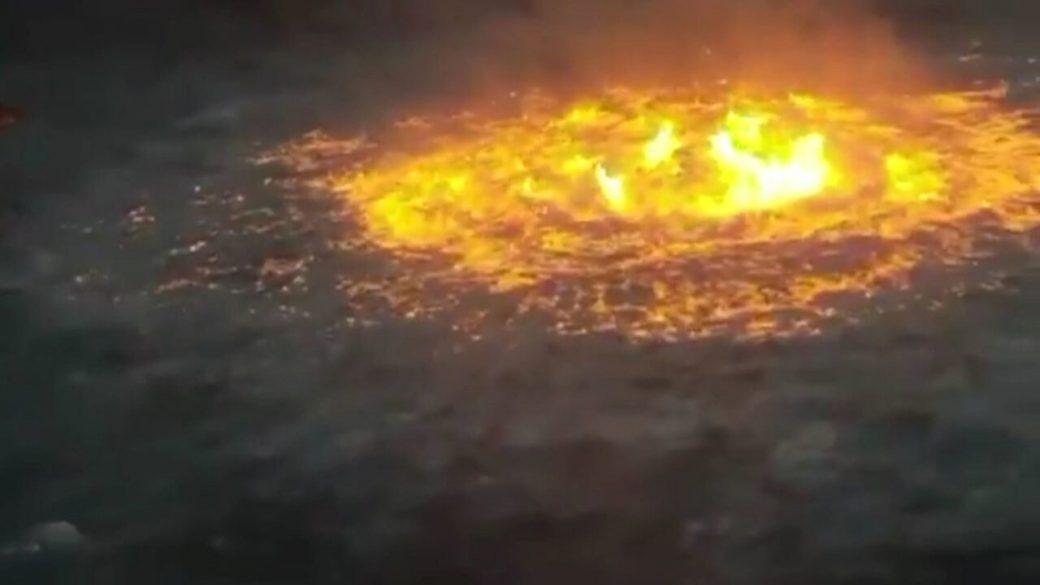¿Qué ocasionó el incendio en el golfo de México?